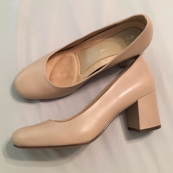 c036af68ad3 Naturalizer Whitney Pump in Tender Taupe Leather. M 5b5252d55bbb80586963aa6f